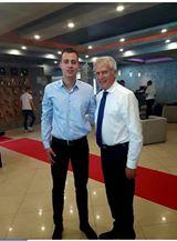 Predsednik opštinePožega sa Mirkom Vasiljevićem