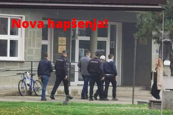 Policija privodi prestupnike